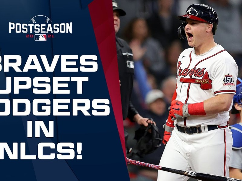 Braves SHOCK THE WORLD with upset of Dodgers in NLCS!   NLCS Game Highlights