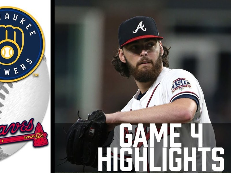 Brewers vs Braves Game 4 Highlights   MLB 2021
