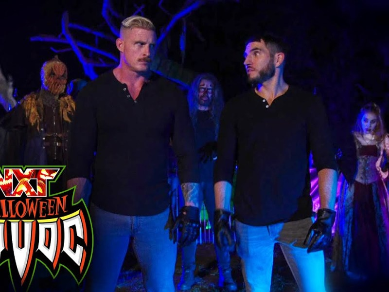 Carmelo Hayes & Trick Williams fend off monsters to escape with title: WWE NXT, Oct. 26, 2021