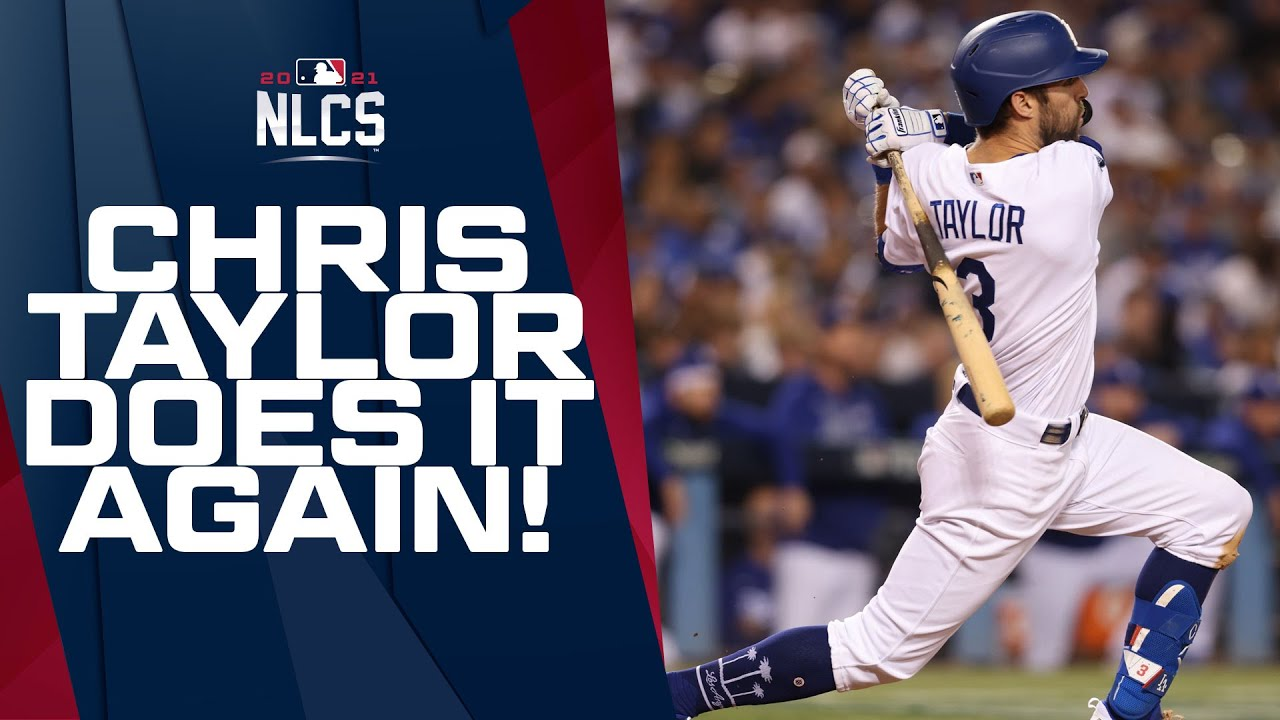 Chris Taylor launched his SECOND HR of the night to extend the Dodgers' lead! - Blog