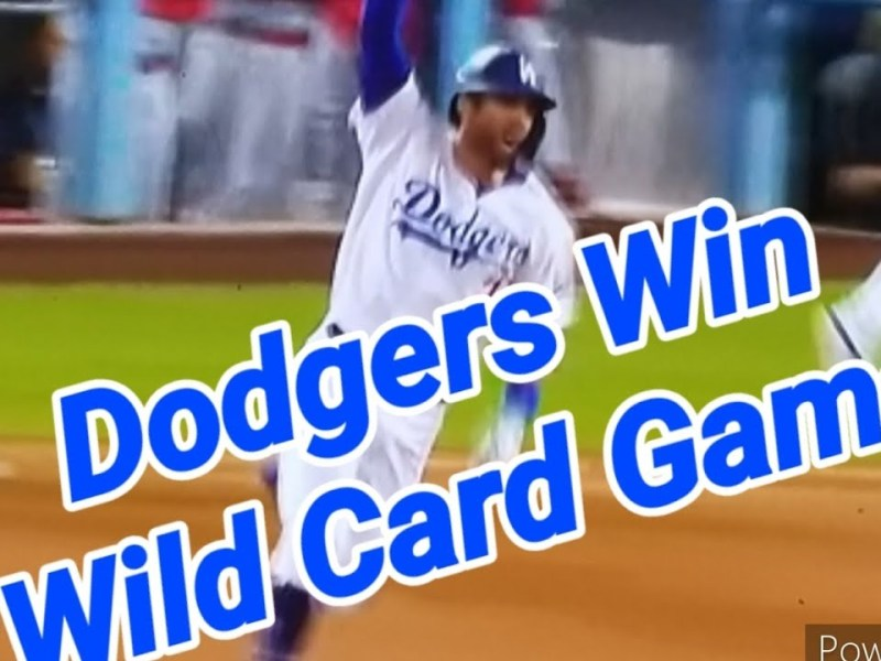 Chris Taylor's Bottom Of 9th Home Run Advances Dodgers To NLDS To Face Giants By Joseph Armendariz