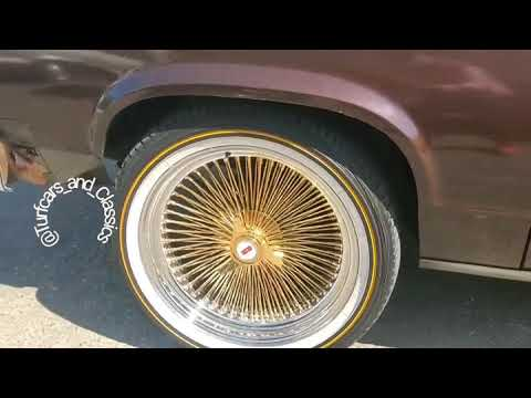 Delta 88 on Gold Thangs & Big Vogues from Oakland California