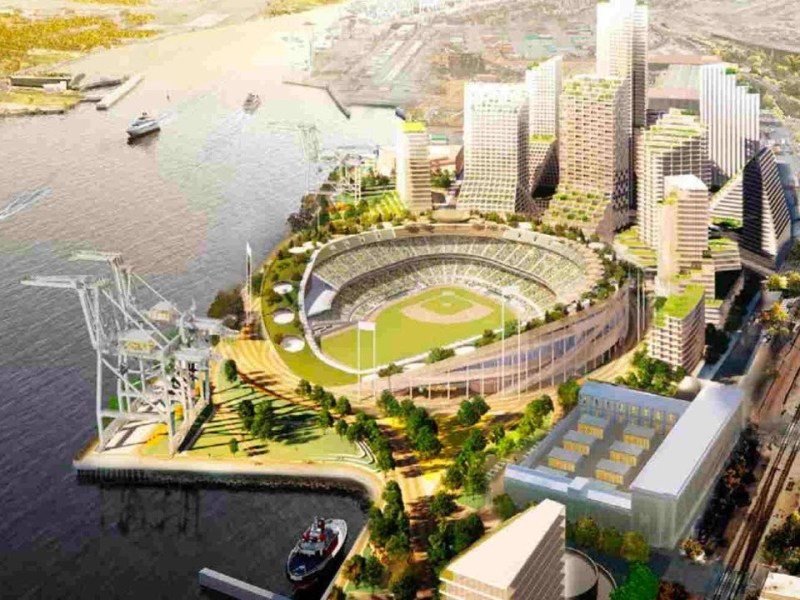 Done In Oakland: Howard Terminal Update: Major League Baseball Commissioner Confirms Zennie62 News