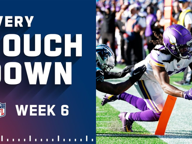 Every Touchdown Scored In Week 6 | NFL 2021 Highlights