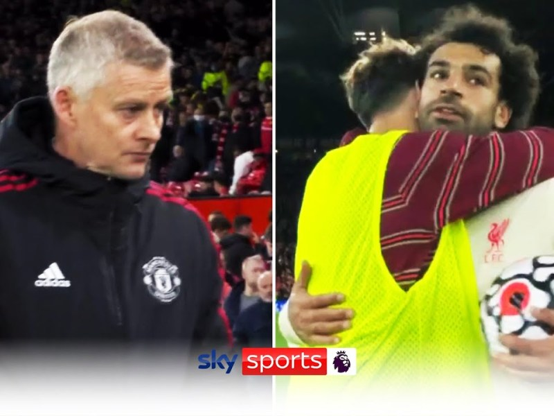Final whistle reaction! | Liverpool hit FIVE past Manchester United to put pressure on Solskjaer