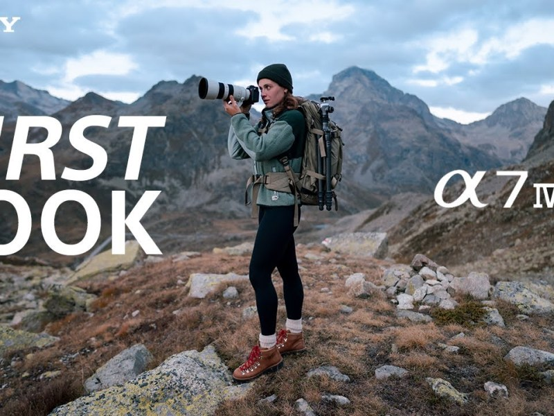 FIRST LOOK: Sony Alpha 7 IV | Official announcement and event