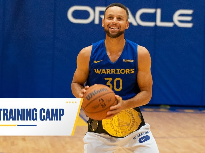 Golden State Warriors Training Camp   Day Five Recap, fueled by @Gatorade