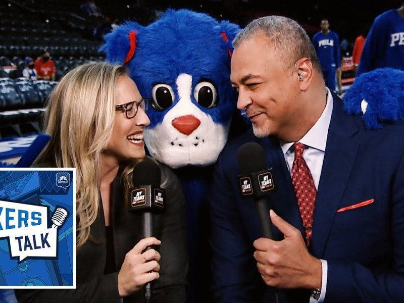 Kate Scott embraces Philly as Sixers season begins | Sixers Talk