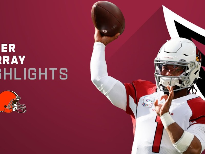 Kyler Murray's Best Passes from 4-TD Game vs. Browns | NFL 2021 Highlights
