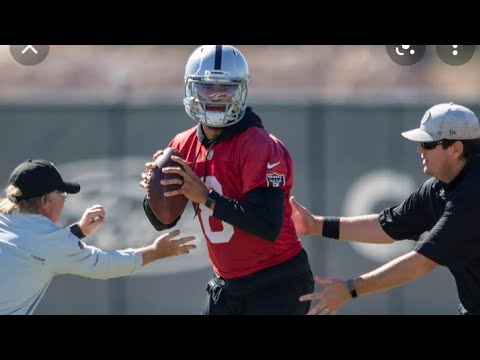 Las Vegas Raiders Marcus Mariota Activated To The Active Roster By Eric Pangilinan