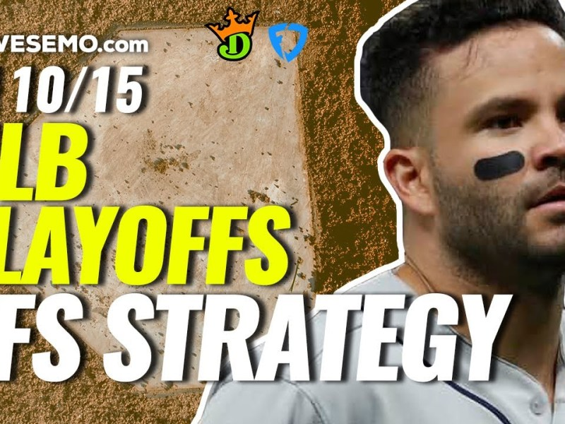 MLB Playoffs DFS Strategy Show: Daily Fantasy Baseball Picks for DraftKings & FanDuel   Friday 10/15