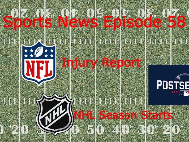 NFL Injury Report || MLB Playoff Updates || College Football Highlights || Sports News Ep. 58