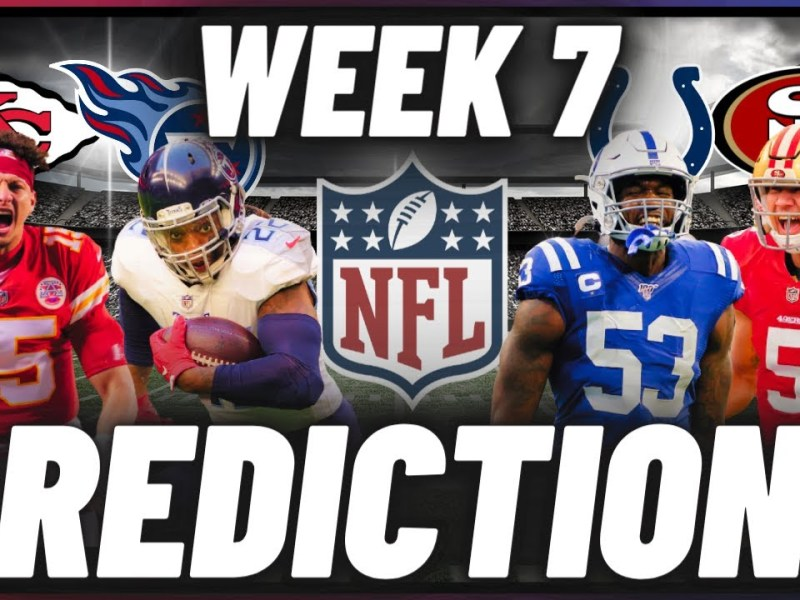 NFL Week 7 Predictions For Every Game | Picks, Predictions, & Betting Odds