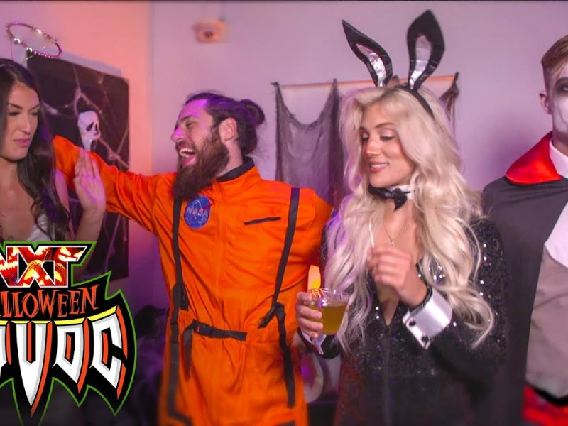 NXT Superstars celebrate Halloween Havoc with a costume party: WWE NXT, Oct. 26, 2021