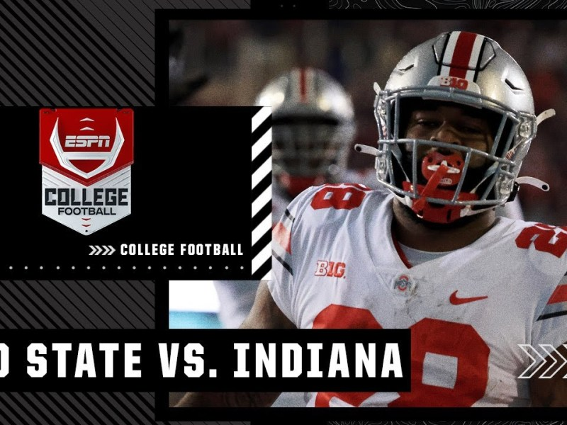 Ohio State Buckeyes at Indiana Hoosiers | Full Game Highlights