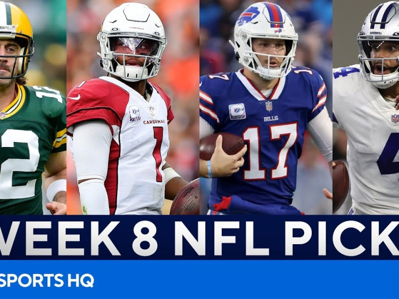 Picks for EVERY BIG Week 8 NFL Game | Picks to Win, Best Bets, & MORE | CBS Sports HQ