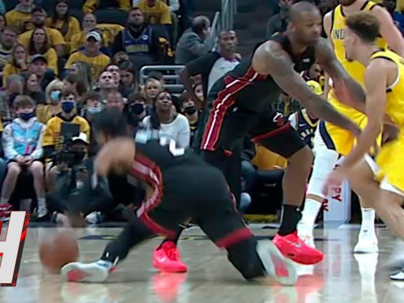 PJ Tucker & Vincent Almost Injured Themselves after Getting Slipped 😳