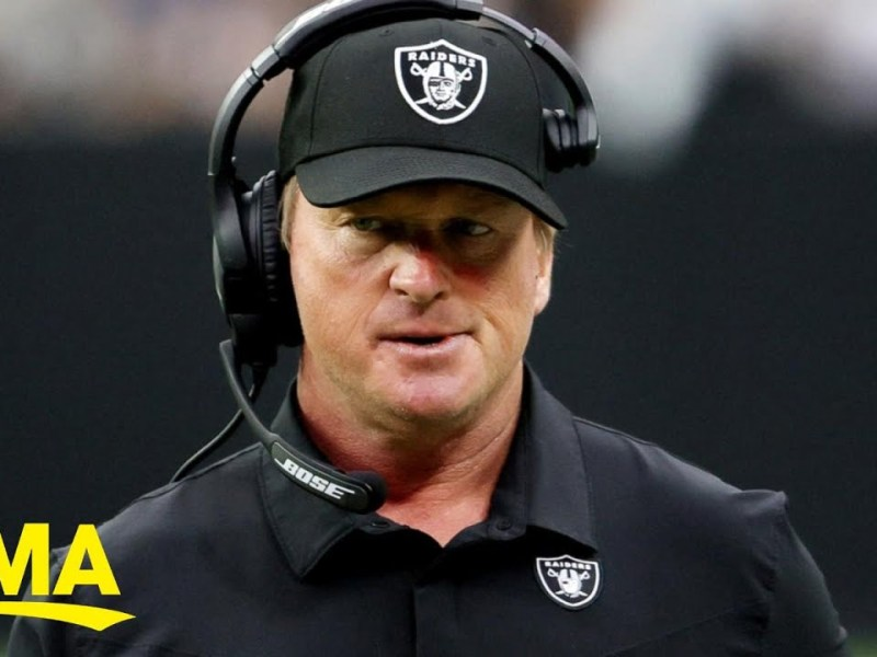 Raiders coach resigns after offensive emails discovered l GMA