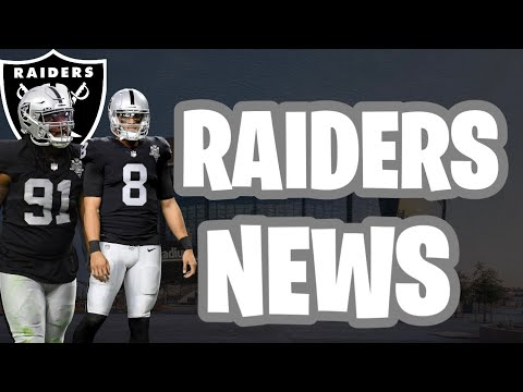 Raiders News : NT Kendal Vickers Move Up To 53 Man Roster | Mariota Activated For Week 6