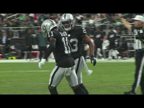 Raiders over Eagles Week 7, second half GROUND LEVEL – Oct 24, 2021