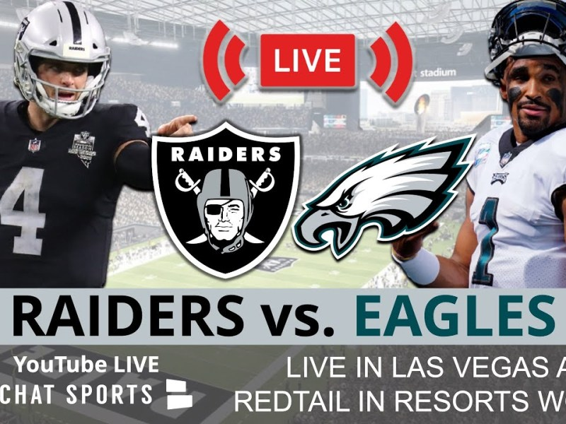 Raiders vs. Eagles Live Streaming Scoreboard, Free Play-By-Play, Highlights & Stats   NFL Week 7