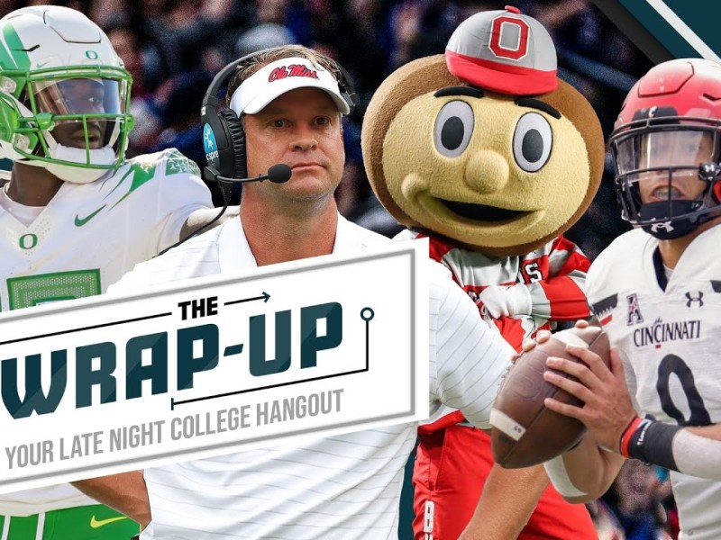 Reacting to Illinois-PSU, Oregon-UCLA, and the rest of today's action packed CFB slate | The Wrap Up