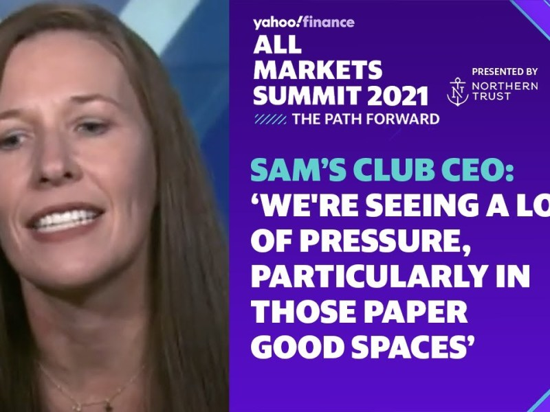 Sam's Club CEO: We're seeing a lot of pressure, particularly in those paper good spaces