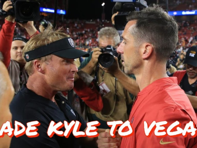 Should the 49ers Trade Kyle Shanahan to the Las Vegas Raiders?