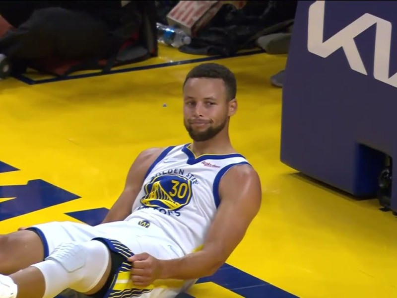 Stephen Curry with an AMAZING Dribbling Move! | Oct. 15, 2021 vs. Trail Blazers