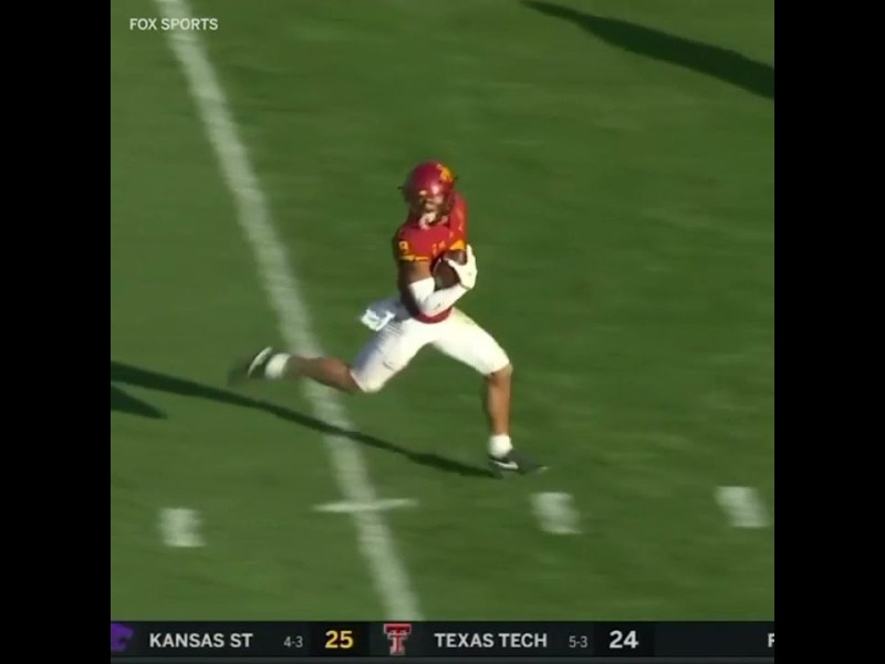 Taunting call costs Iowa State a TD 👀 #shorts