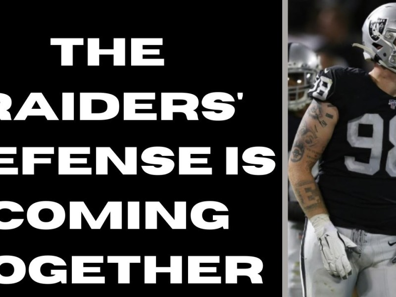 The Las Vegas Raiders DEFENSE IS COMING TOGETHER | The Sports Brief Podcast