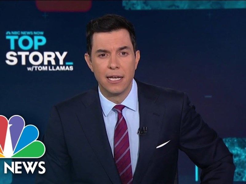Top Story with Tom Llamas – October 27th | NBC News Now