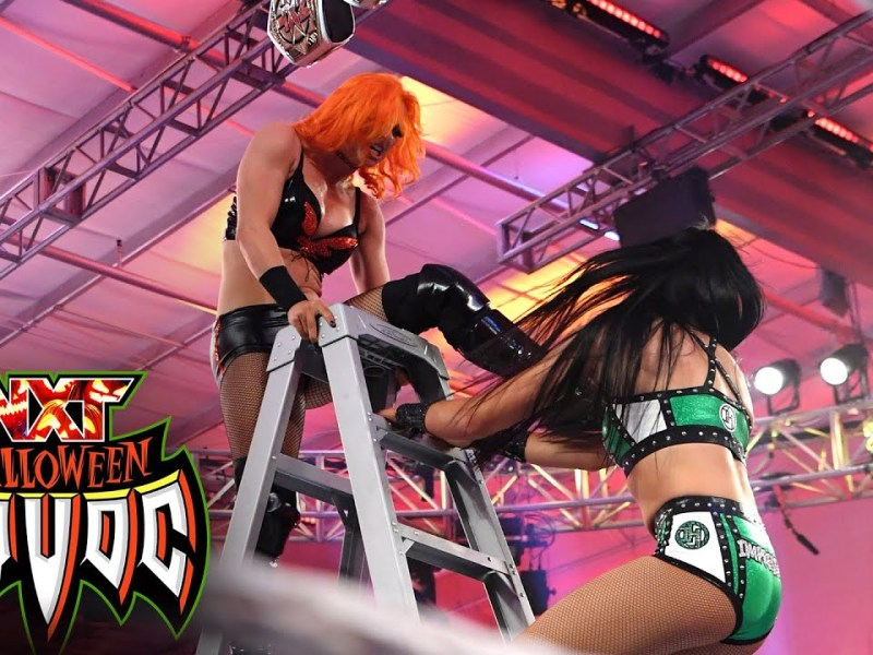 Toxic Attraction climb Scareway to Hell in Ladder Match: WWE NXT, Oct. 26, 2021