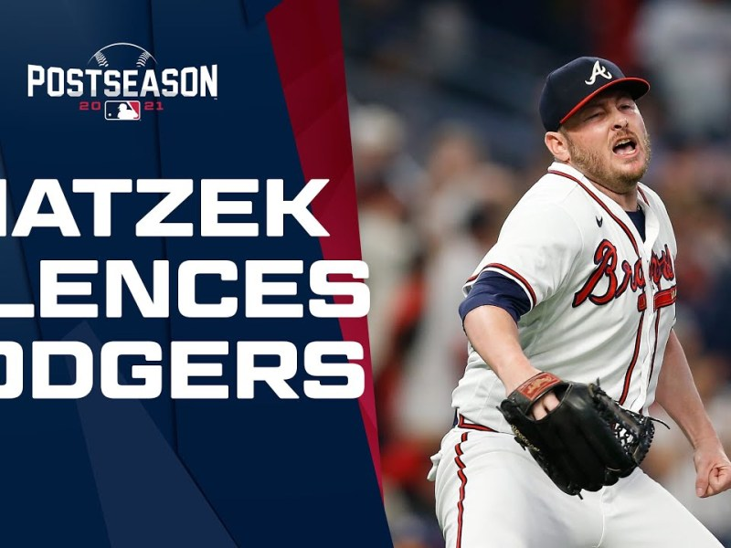 Tyler Matzek SILENCES the Dodgers' bats with three straight strikeouts to hold the lead!