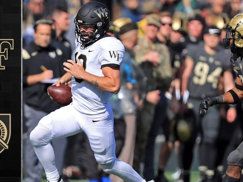 Wake Forest vs. Army Football Highlights (2021)