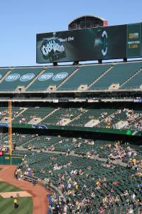 Oakland Originals at the Oakland Coliseum