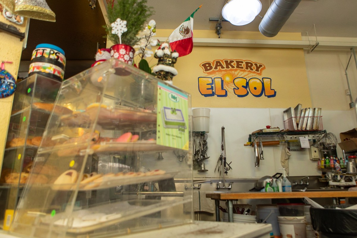 Bakery El Sol kitchen
