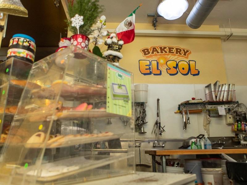 Bakery El Sol kitchen