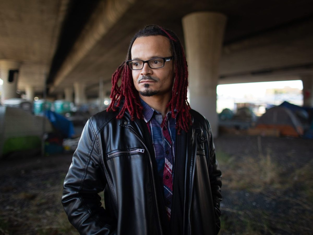 Portrait of Vincent-Ray Williams III, founder of Urban Park Cleanup