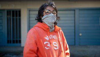 Portrait of Marina Salas in Oakland
