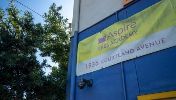 A dilapidating Aspire Eres Academy, set to close soon during COVID-19 pandemic.