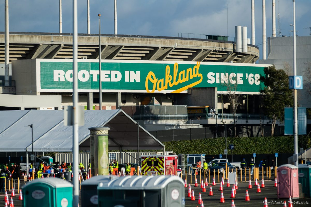 Oakland Coliseum is the newest site for COVID-19 vaccinations.