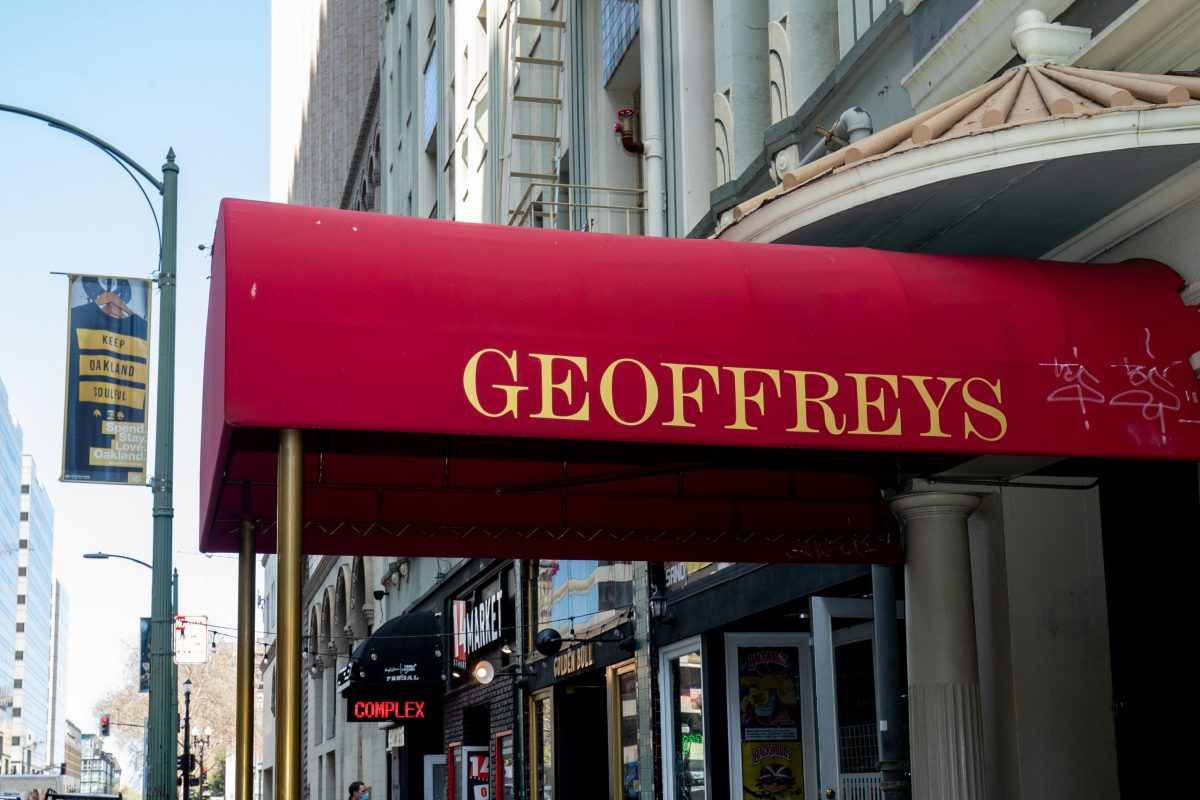 Geoffrey's Inner Circle, renowned event space and live music venue located in Downtown Oakland.