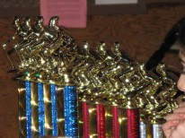 Grudge race trophies