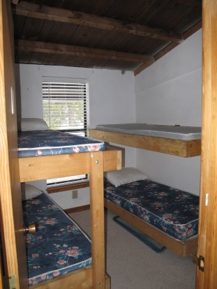 Bunks at the Oakland Ski Club