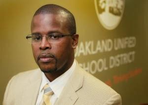 Oakland school superintendent, Antwan Wilson