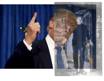 """Donald """"Trumpenstein"""": Like the mythical monster, Trump has been created by the capitalists themselves but now he's partially run out of their control."""
