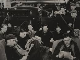 Workers occupy GM plant in 1937