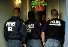 ICE raid. Anybody who thinks such repression will stop with the undocumented immigrants is fooling themselves.
