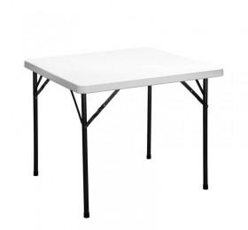 34u201d square granite white plastic folding table